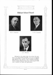 Page 15, 1928 Edition, Elkhart High School - Pennant Yearbook (Elkhart, IN) online yearbook collection