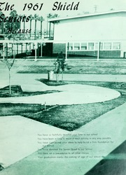 Page 11, 1961 Edition, Charter Oak High School - Shield Yearbook (Covina, CA) online yearbook collection