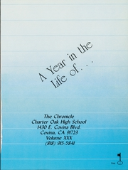 Page 5, 1988 Edition, Charter Oak High School - Shield Yearbook (Covina, CA) online yearbook collection
