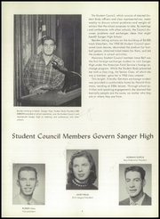 Page 12, 1956 Edition, Sanger High School - Echo Yearbook (Sanger, CA) online yearbook collection