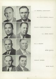 Page 12, 1952 Edition, Stephenville High School - Yellow Jacket Yearbook (Stephenville, TX) online yearbook collection