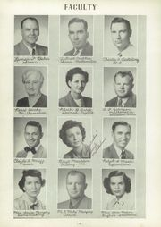 Page 14, 1952 Edition, Stephenville High School - Yellow Jacket Yearbook (Stephenville, TX) online yearbook collection