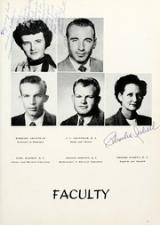 Page 17, 1954 Edition, Stephenville High School - Yellow Jacket Yearbook (Stephenville, TX) online yearbook collection