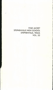Page 3, 1968 Edition, Stephenville High School - Yellow Jacket Yearbook (Stephenville, TX) online yearbook collection