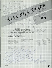Page 260, 1985 Edition, Alta Loma High School - Sisunga Yearbook (Alta Loma, CA) online yearbook collection