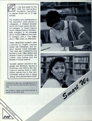 Page 252, 1986 Edition, Alta Loma High School - Sisunga Yearbook (Alta Loma, CA) online yearbook collection
