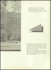 Page 7, 1957 Edition, Quincy High School - Shadow Yearbook (Quincy, IL) online yearbook collection