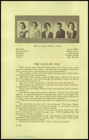 Page 12, 1922 Edition, Garfield High School - Arrow Yearbook (Seattle, WA) online yearbook collection