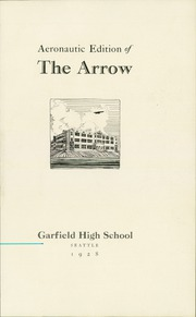 Page 5, 1928 Edition, Garfield High School - Arrow Yearbook (Seattle, WA) online yearbook collection