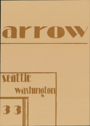 Page 7, 1933 Edition, Garfield High School - Arrow Yearbook (Seattle, WA) online yearbook collection