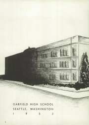 Page 6, 1953 Edition, Garfield High School - Arrow Yearbook (Seattle, WA) online yearbook collection