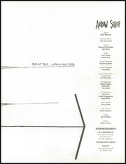Page 7, 1960 Edition, Garfield High School - Arrow Yearbook (Seattle, WA) online yearbook collection