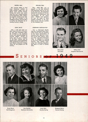 Page 15, 1949 Edition, DuBois Area High School - Clipper Yearbook (Du Bois, PA) online yearbook collection