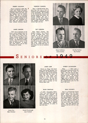 Page 17, 1949 Edition, DuBois Area High School - Clipper Yearbook (Du Bois, PA) online yearbook collection