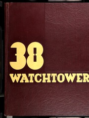 Page 1, 1938 Edition, Beverly Hills High School - Watchtower Yearbook (Beverly Hills, CA) online yearbook collection