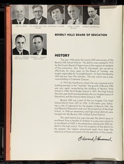 Page 10, 1938 Edition, Beverly Hills High School - Watchtower Yearbook (Beverly Hills, CA) online yearbook collection