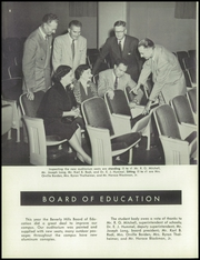 Page 12, 1954 Edition, Beverly Hills High School - Watchtower Yearbook (Beverly Hills, CA) online yearbook collection