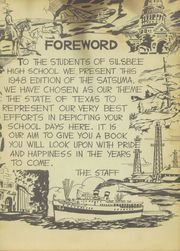 Page 7, 1948 Edition, Silsbee High School - Satsuma Yearbook (Silsbee, TX) online yearbook collection