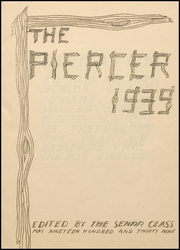 Page 5, 1939 Edition, Pierce High School - Piercer Yearbook (Arbuckle, CA) online yearbook collection