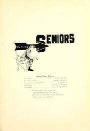 Page 11, 1914 Edition, Waterloo High School - Rosebud Yearbook (Waterloo, IN) online yearbook collection