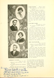 Page 15, 1914 Edition, Waterloo High School - Rosebud Yearbook (Waterloo, IN) online yearbook collection