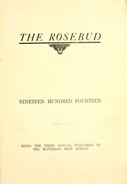 Page 7, 1914 Edition, Waterloo High School - Rosebud Yearbook (Waterloo, IN) online yearbook collection