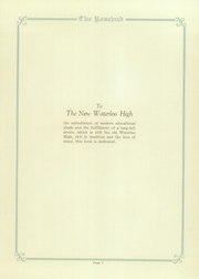 Page 13, 1926 Edition, Waterloo High School - Rosebud Yearbook (Waterloo, IN) online yearbook collection