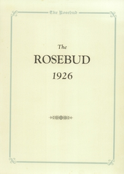 Page 7, 1926 Edition, Waterloo High School - Rosebud Yearbook (Waterloo, IN) online yearbook collection