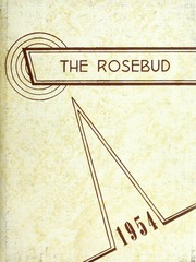 Page 1, 1954 Edition, Waterloo High School - Rosebud Yearbook (Waterloo, IN) online yearbook collection