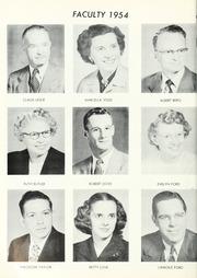 Page 12, 1954 Edition, Waterloo High School - Rosebud Yearbook (Waterloo, IN) online yearbook collection