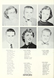 Page 16, 1954 Edition, Waterloo High School - Rosebud Yearbook (Waterloo, IN) online yearbook collection
