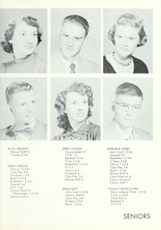 Page 17, 1954 Edition, Waterloo High School - Rosebud Yearbook (Waterloo, IN) online yearbook collection