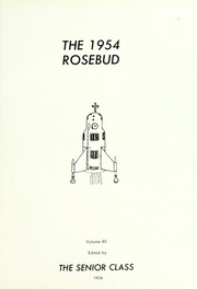 Page 5, 1954 Edition, Waterloo High School - Rosebud Yearbook (Waterloo, IN) online yearbook collection