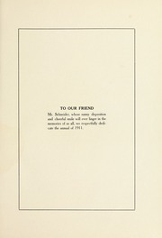 Page 11, 1911 Edition, Valparaiso High School - Valenian Yearbook (Valparaiso, IN) online yearbook collection