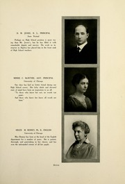 Page 15, 1917 Edition, Valparaiso High School - Valenian Yearbook (Valparaiso, IN) online yearbook collection