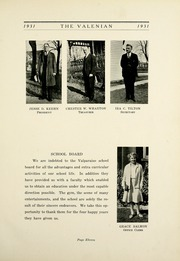Page 17, 1931 Edition, Valparaiso High School - Valenian Yearbook (Valparaiso, IN) online yearbook collection