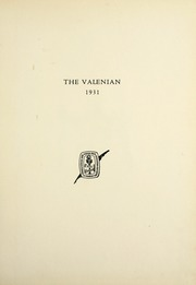 Page 5, 1931 Edition, Valparaiso High School - Valenian Yearbook (Valparaiso, IN) online yearbook collection