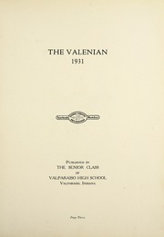 Page 7, 1931 Edition, Valparaiso High School - Valenian Yearbook (Valparaiso, IN) online yearbook collection