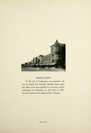 Page 9, 1931 Edition, Valparaiso High School - Valenian Yearbook (Valparaiso, IN) online yearbook collection