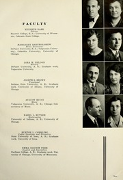 Page 13, 1933 Edition, Valparaiso High School - Valenian Yearbook (Valparaiso, IN) online yearbook collection