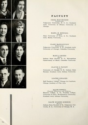 Page 14, 1933 Edition, Valparaiso High School - Valenian Yearbook (Valparaiso, IN) online yearbook collection