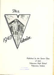 Page 5, 1943 Edition, Valparaiso High School - Valenian Yearbook (Valparaiso, IN) online yearbook collection