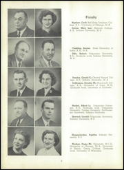 Page 12, 1953 Edition, Valparaiso High School - Valenian Yearbook (Valparaiso, IN) online yearbook collection