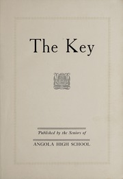 Page 5, 1928 Edition, Angola High School - Key Yearbook (Angola, IN) online yearbook collection