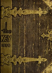 Page 1, 1939 Edition, Angola High School - Key Yearbook (Angola, IN) online yearbook collection
