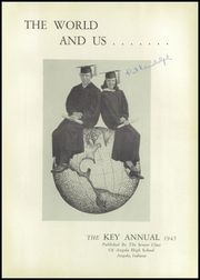 Page 5, 1945 Edition, Angola High School - Key Yearbook (Angola, IN) online yearbook collection