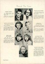 Page 16, 1949 Edition, Angola High School - Key Yearbook (Angola, IN) online yearbook collection