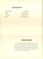 Page 10, 1953 Edition, Angola High School - Key Yearbook (Angola, IN) online yearbook collection