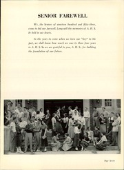 Page 11, 1953 Edition, Angola High School - Key Yearbook (Angola, IN) online yearbook collection
