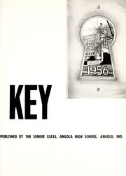 Page 5, 1956 Edition, Angola High School - Key Yearbook (Angola, IN) online yearbook collection